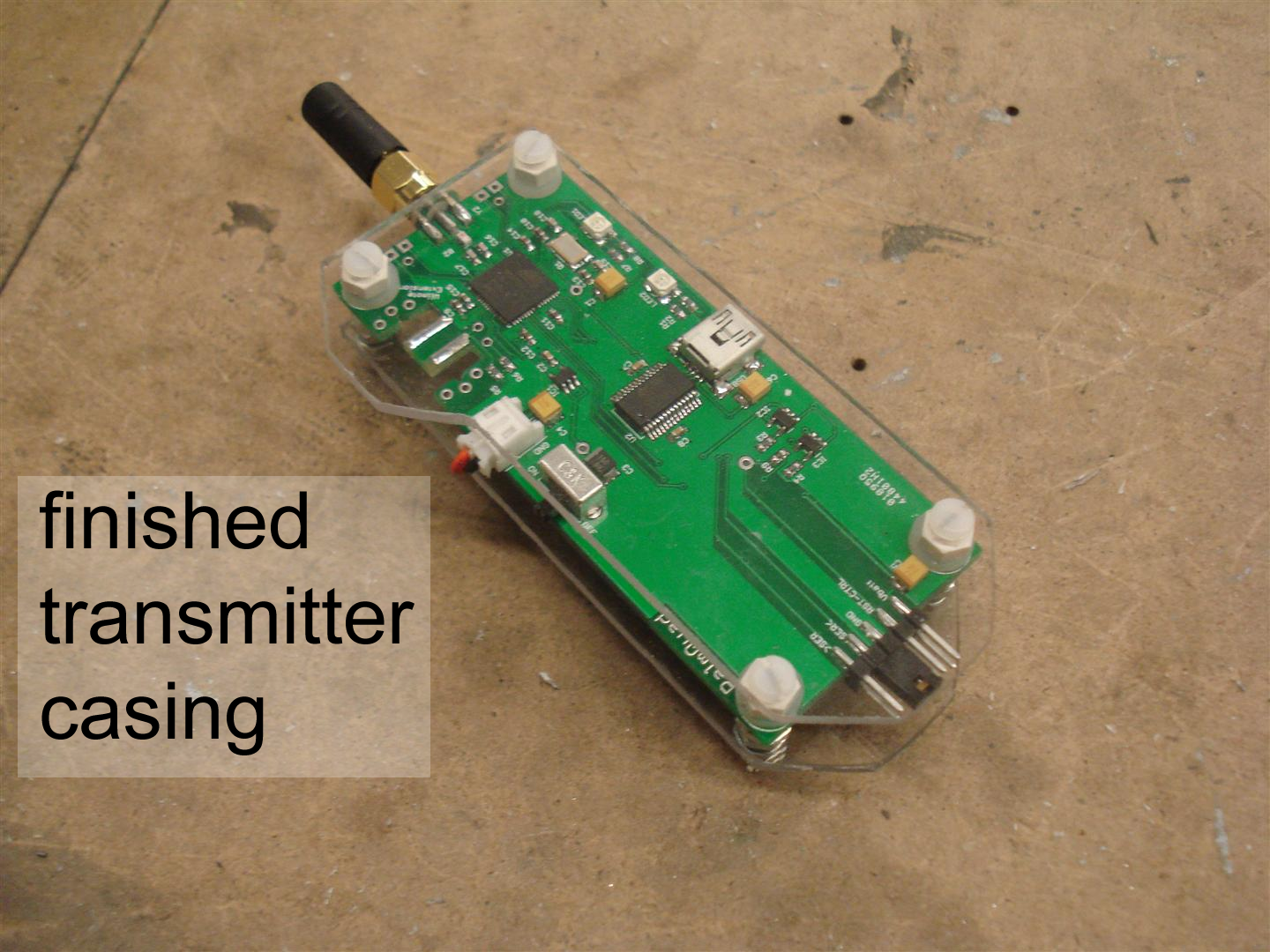 Picture of Transmitter Case