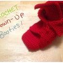 Crochet Grown-Up Booties