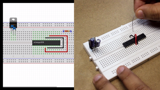 Build the Circuit in Breadboard ( Just for Checking Purpose )