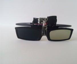 Liquid Crystal Glasses for Amblyopia (Alternating Occlusion Training Glasses)  [ATtiny13]
