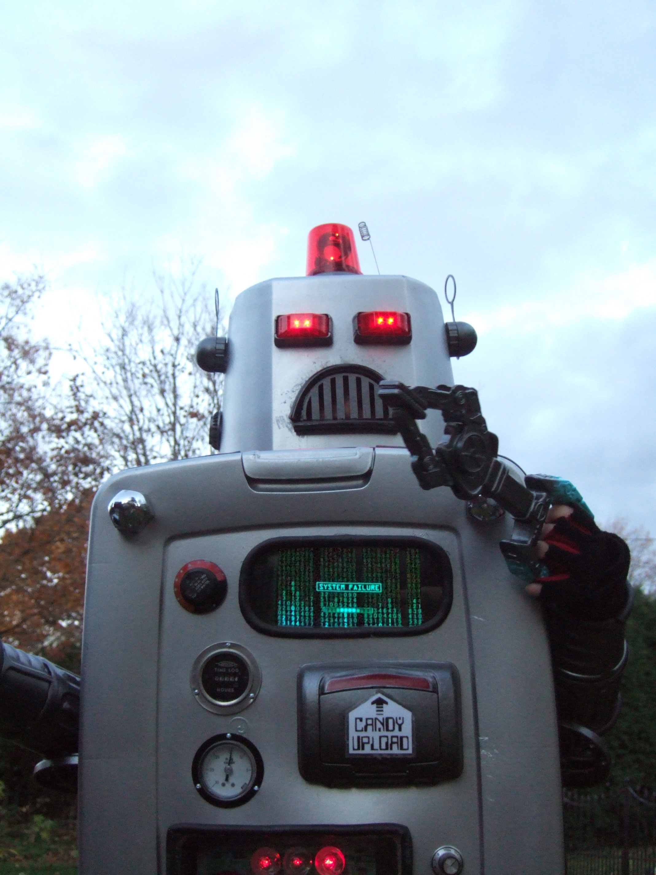 Picture of Malfunctioning Robot