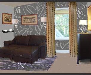 Mmm ...(multi-tasking Masculine Media) Room- Share Your Space With Ikea Challenge