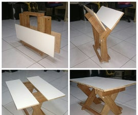 Portable Multipurpose Table