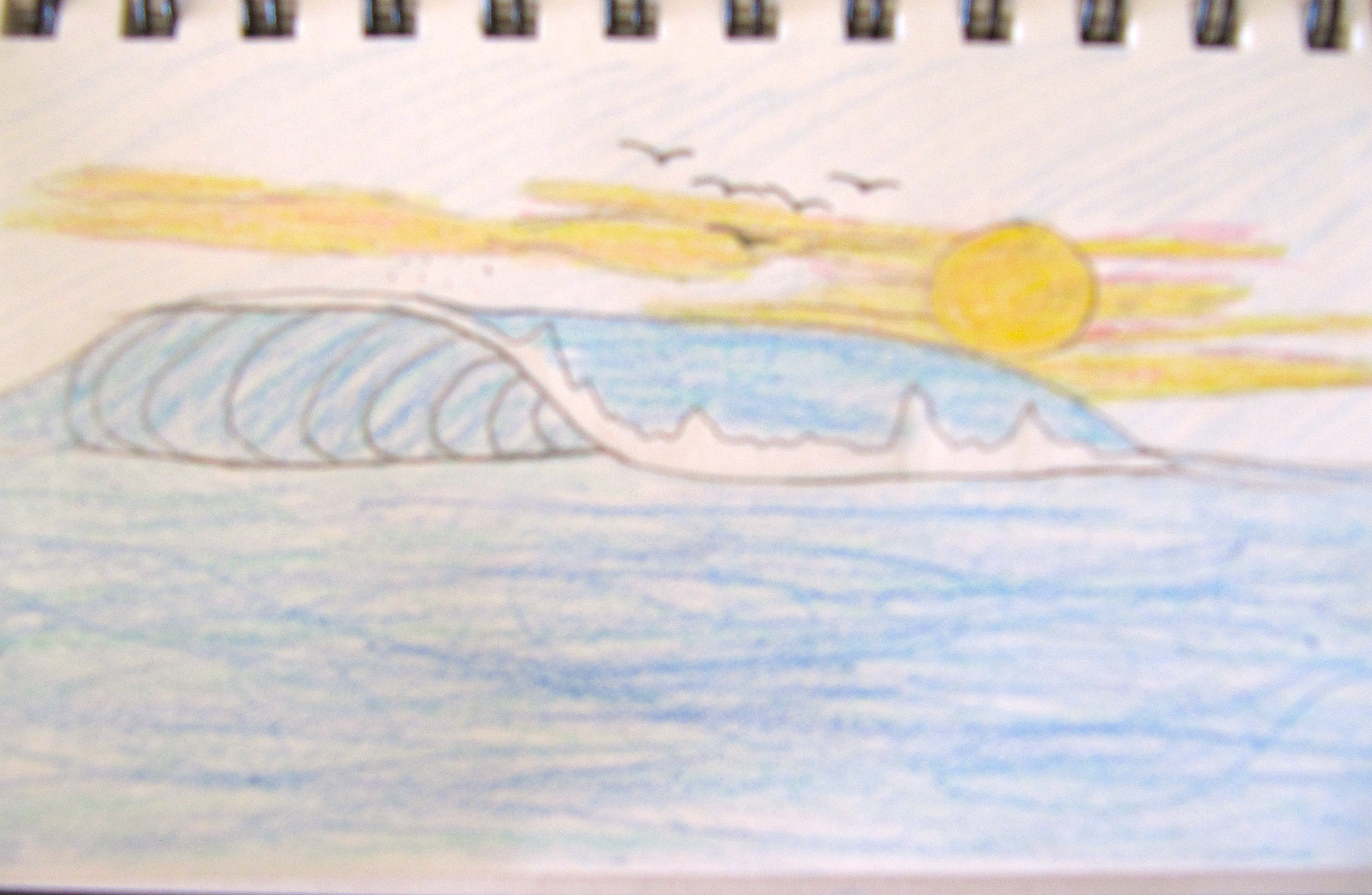 Picture of How to Draw a Wave