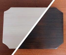 Shou Sugi Ban Pine Cutting Board
