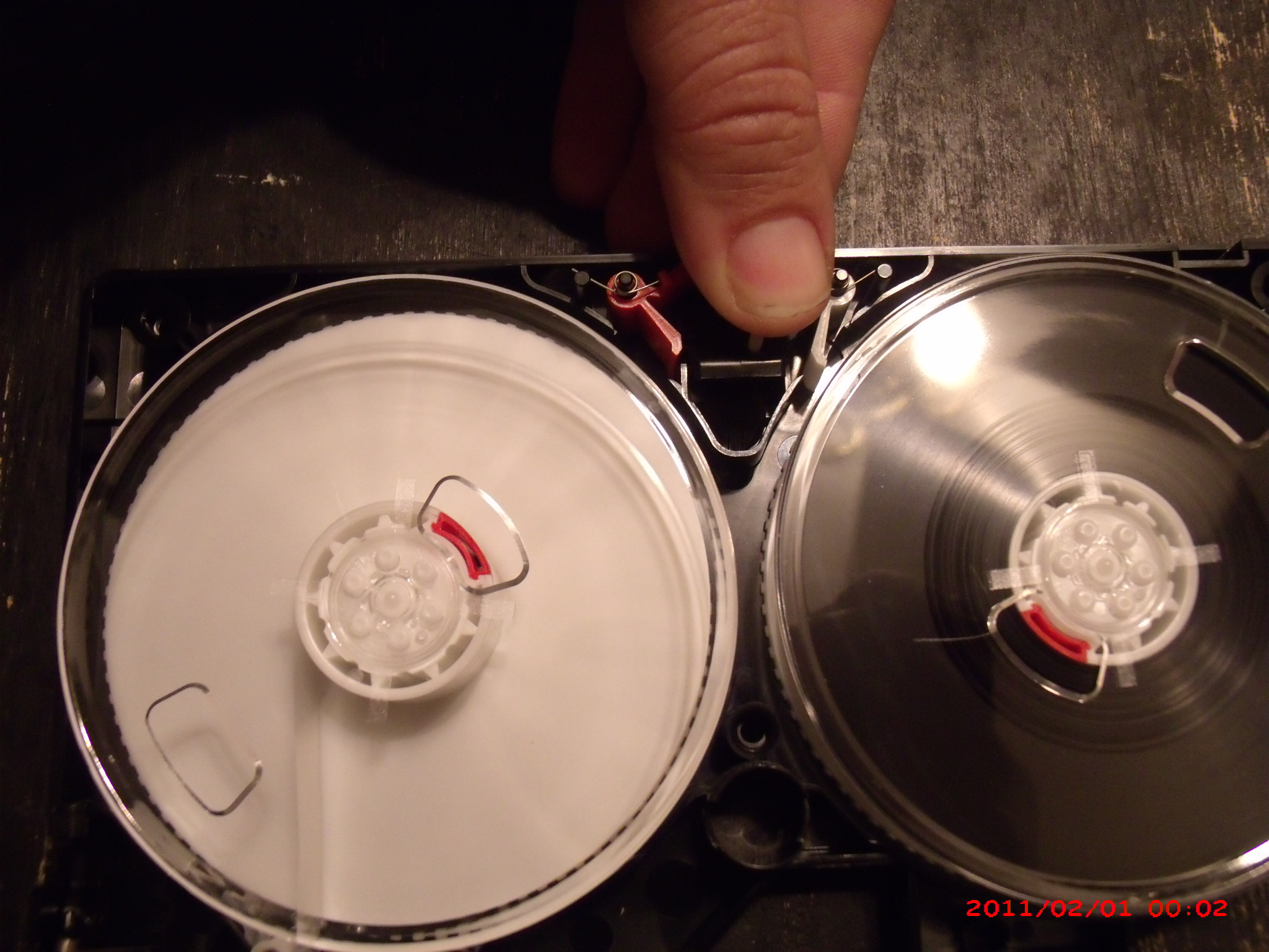 Picture of Removing the Tape