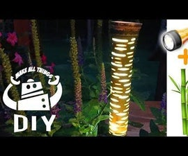 DIY - LED Flashlight Landscape Torch