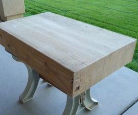 Child's Workbench Bench Top #2  Glulam Beam