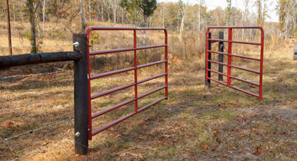 How to Hang a Farm Gate/Fence: 11 Steps (with Pictures)