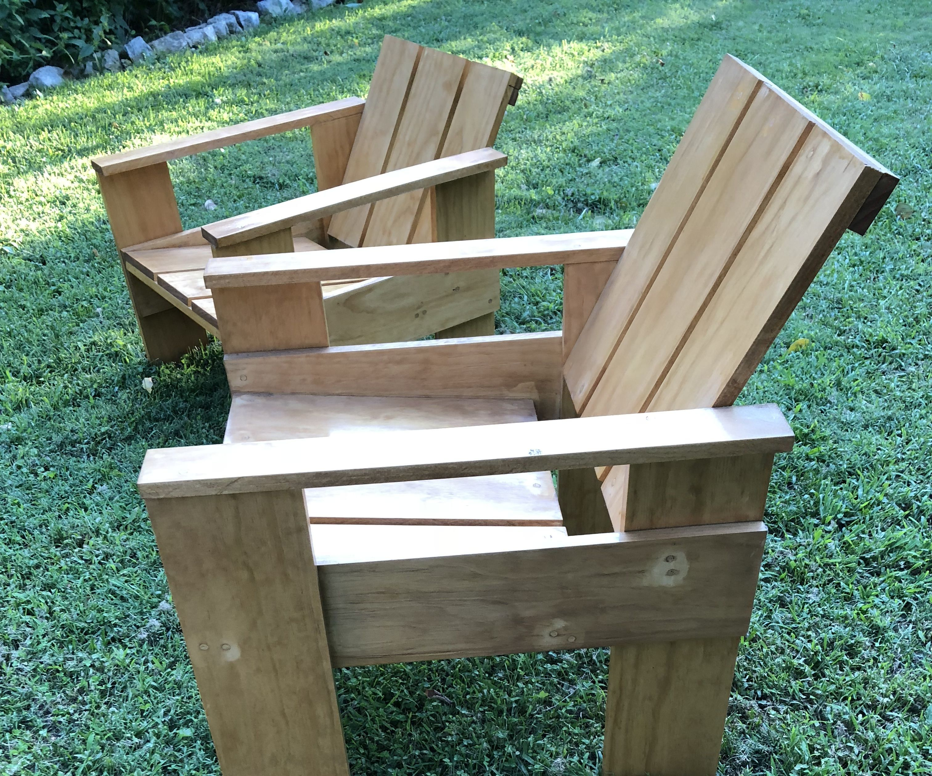 Groovy Gerrit Rietveld Crate Chair 5 Steps With Pictures Download Free Architecture Designs Scobabritishbridgeorg