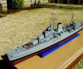 Build a Model Boat: HMS Ajax