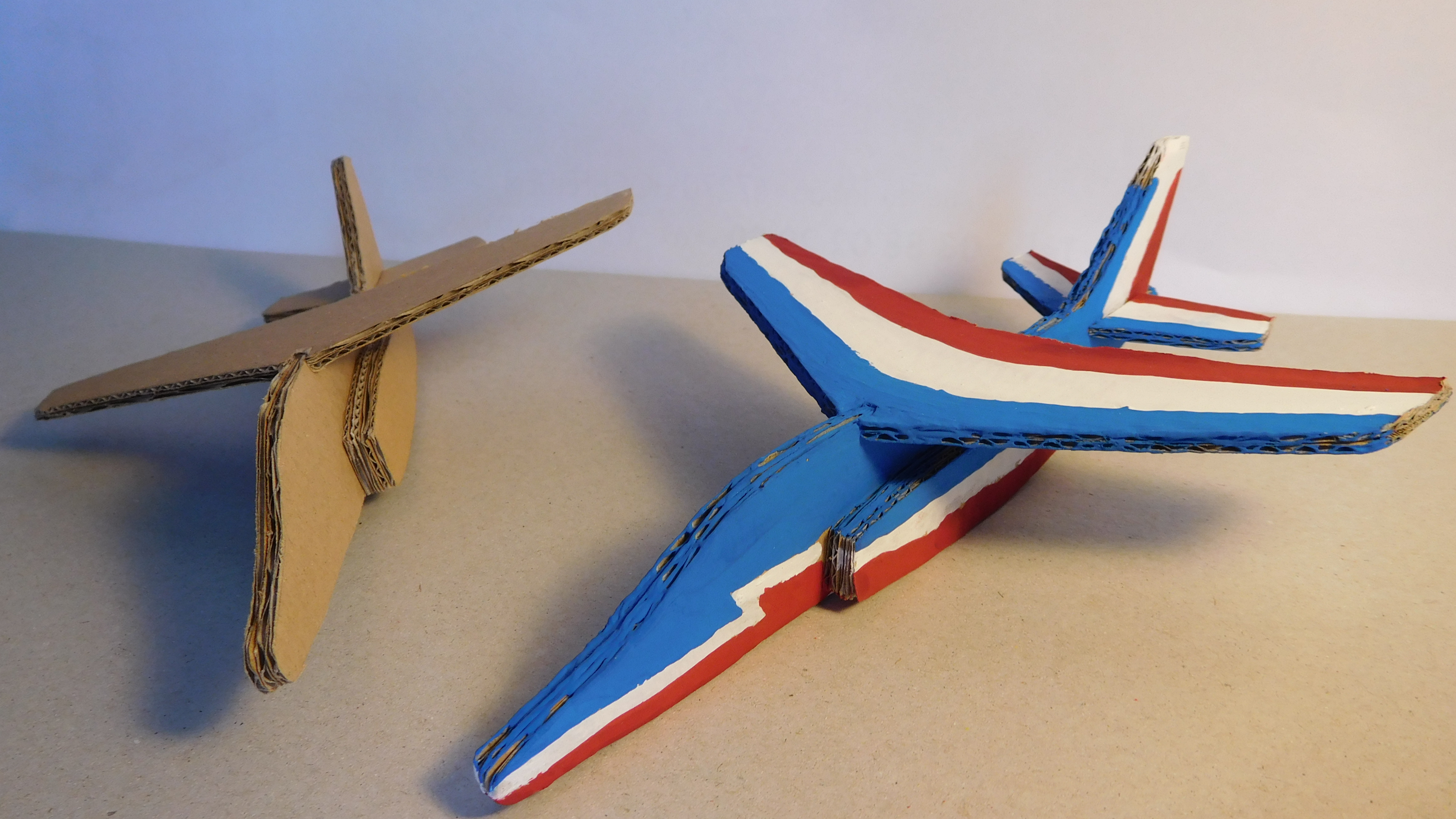 Picture of Alphajet Out of Cardboard