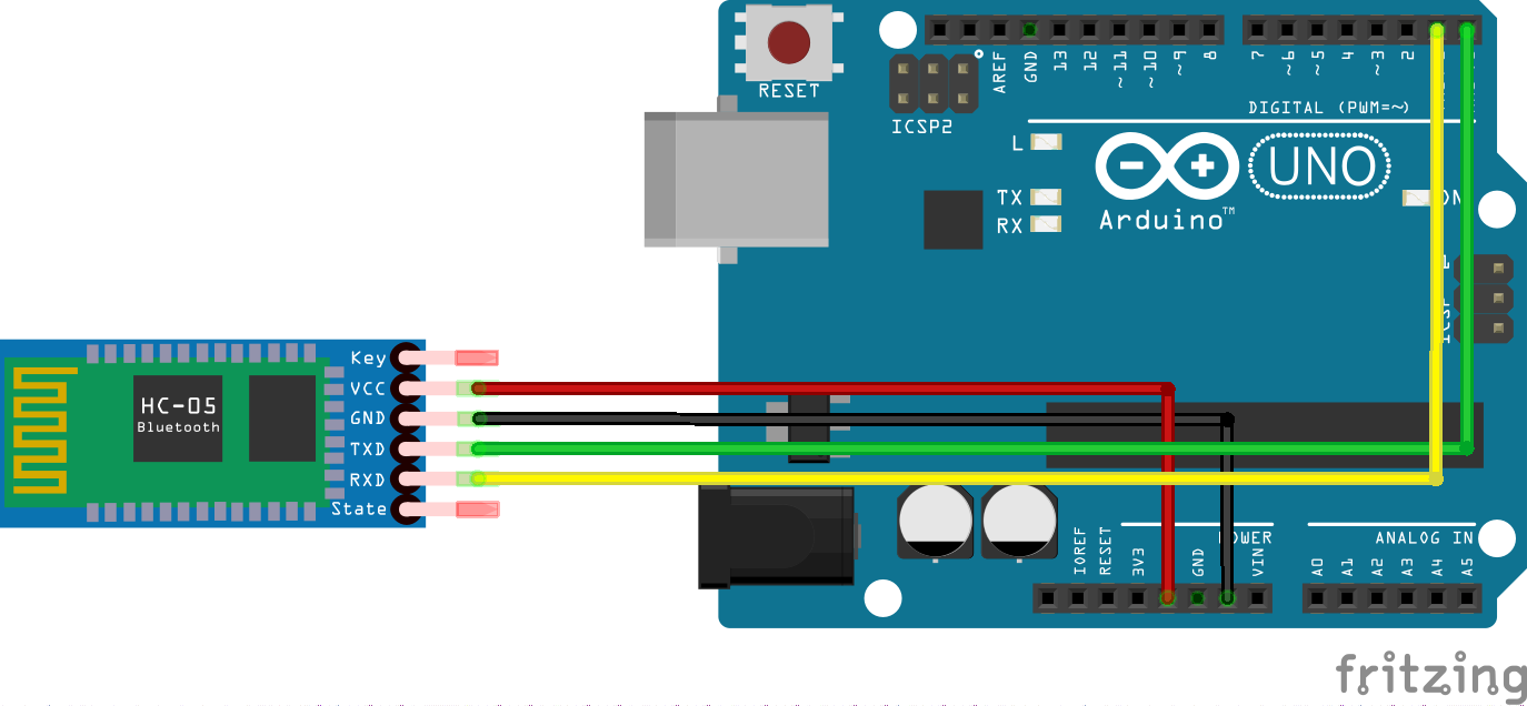 Picture of Bluetooth Module to Arduino UNO: