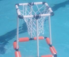 DIY Floating Basketball Hoop