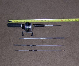 Travel Fishing Rod - Make It Yourself