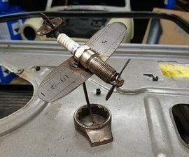 Spark Plug Fighter Plane
