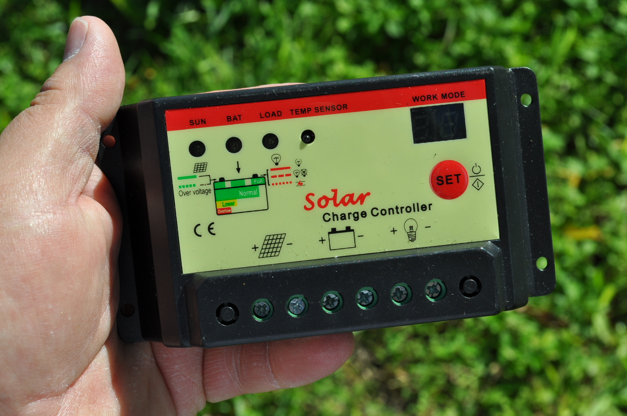 Picture of Charge Controllers, What Regulates the Power From the Sun