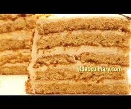 Honey Layer Bee Cake