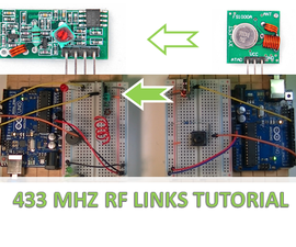 433 MHz RF Links Theory, Circuit and Program