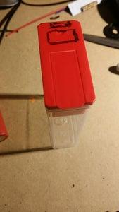 Preparing the Tic Tac Container