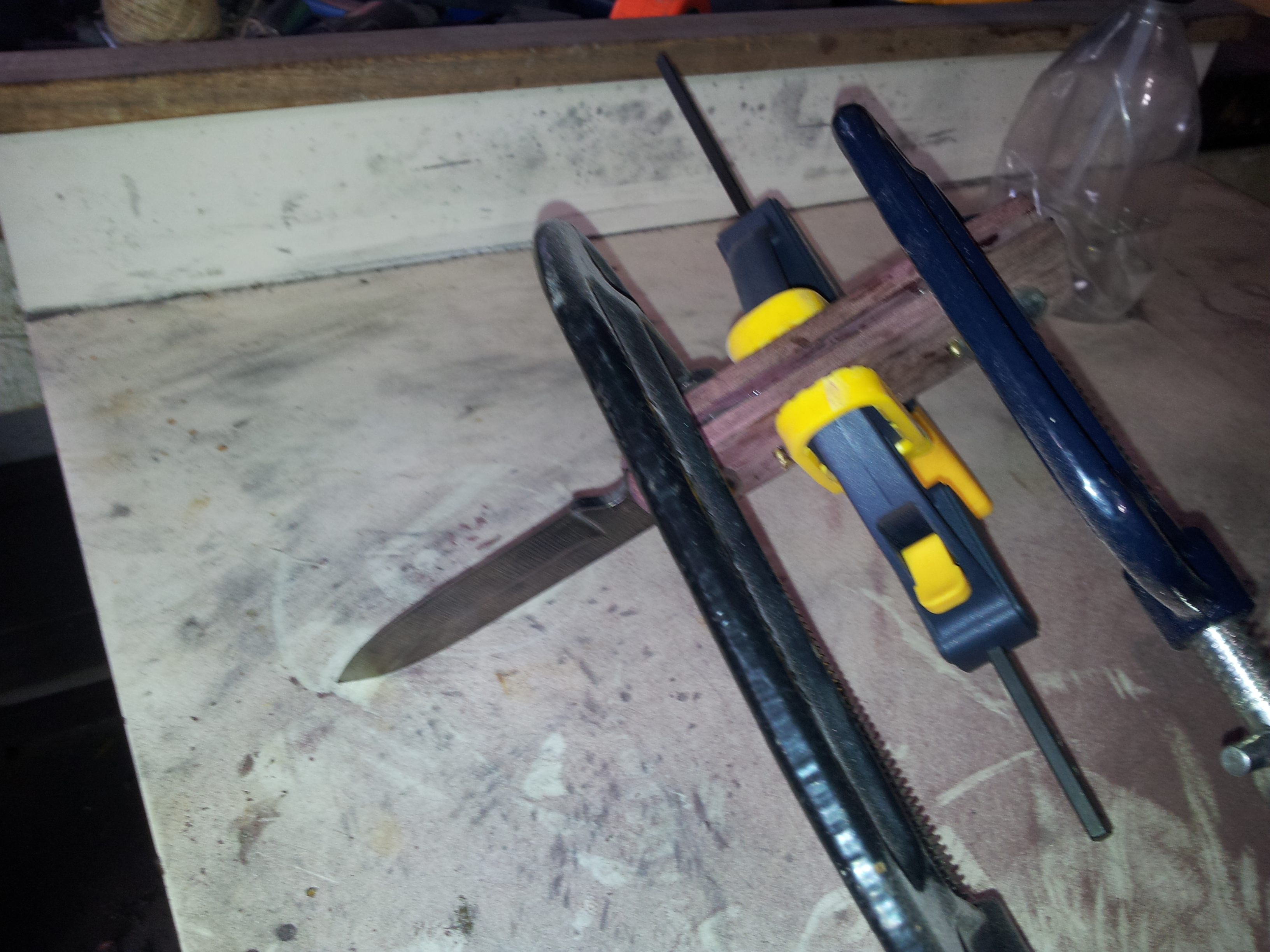 Picture of Pinning and Gluing the Handle