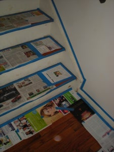 Repainting Backboards and Moulding
