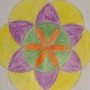 Symmetric Flower Pattern