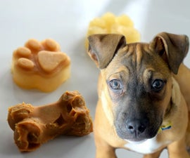 Puppy Popsicles and Dog Kong Treats