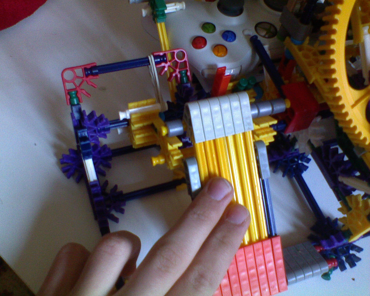 Picture of KNEX Steering Wheel for Xbox 360