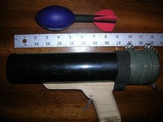Pistol Grip and Grenade/coupler Assembly