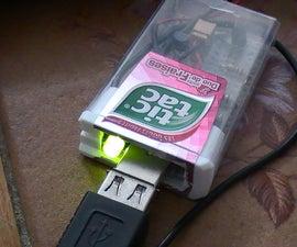 Tic Tac USB 2 transistors Sound Amplifier