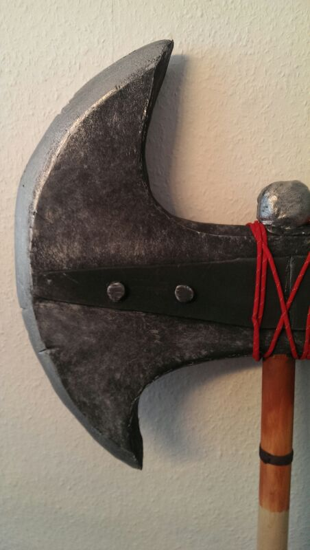 Picture of Finished Axe