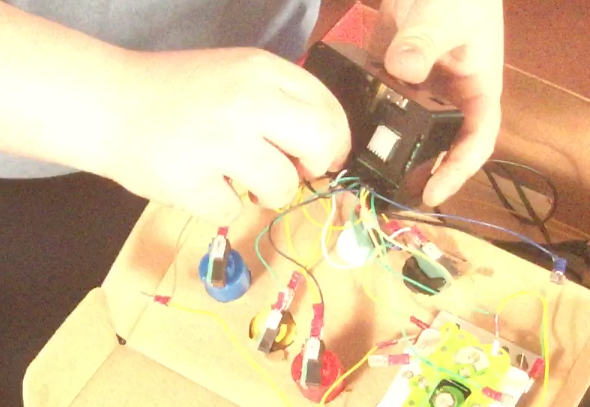 Picture of Connecting the Raspberry Pie to the Joystick or Buttons