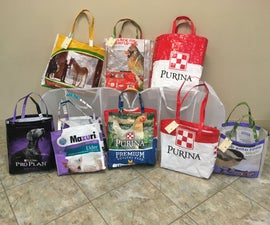 Upcycling Grain Bags Into Tote Bags