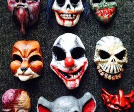 Making Fiberglass Masks