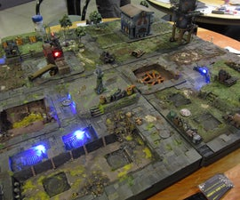 Warmachine Gaming Table for Penny Arcade