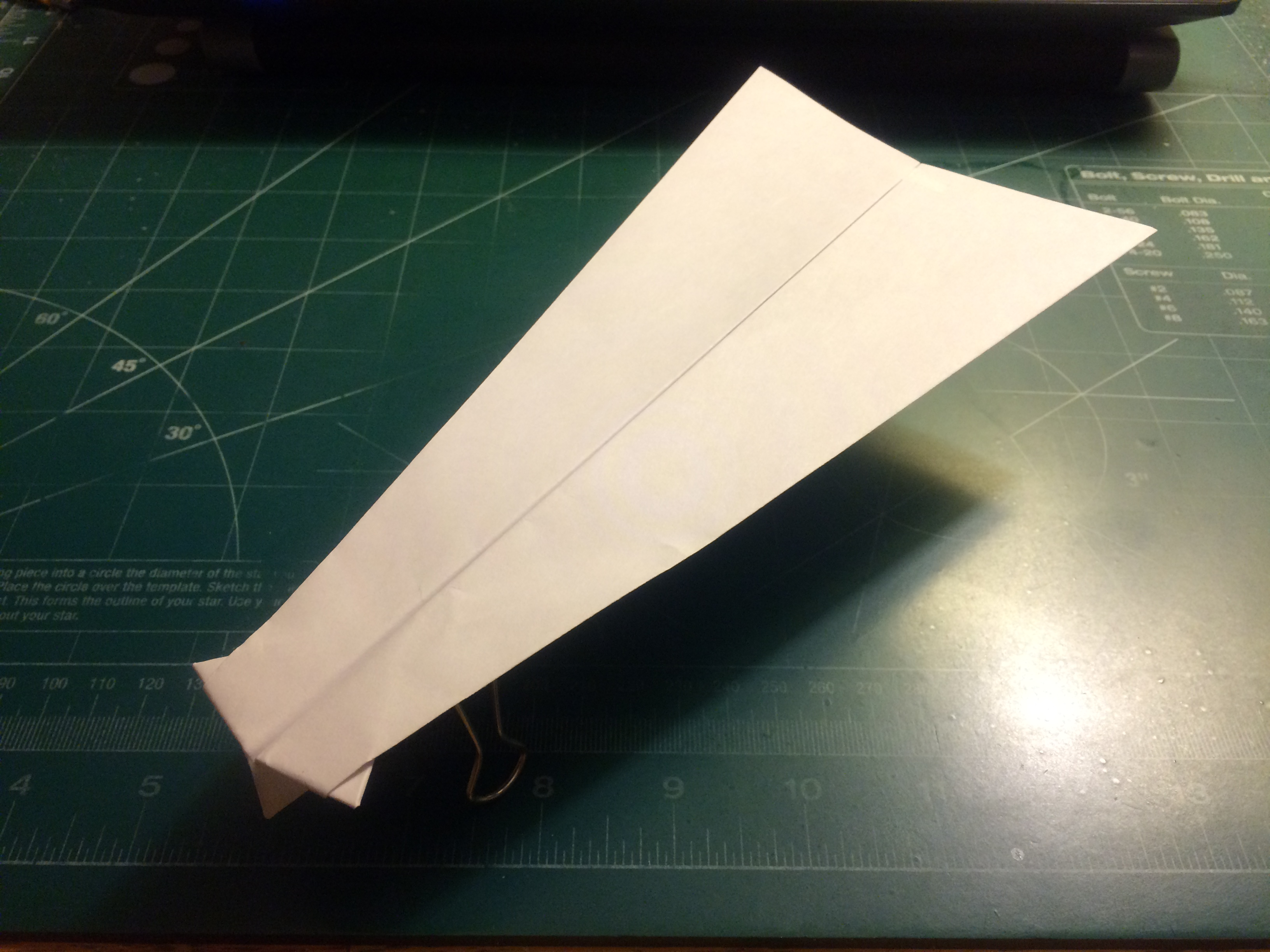 Picture of How to Make the Buffalo Paper Airplane