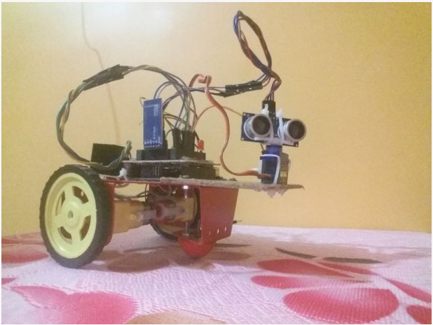 Picture of DUO BOT : the First of Its Kind**