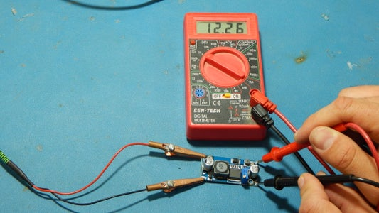 Setting the DC-DC Boost Circuit