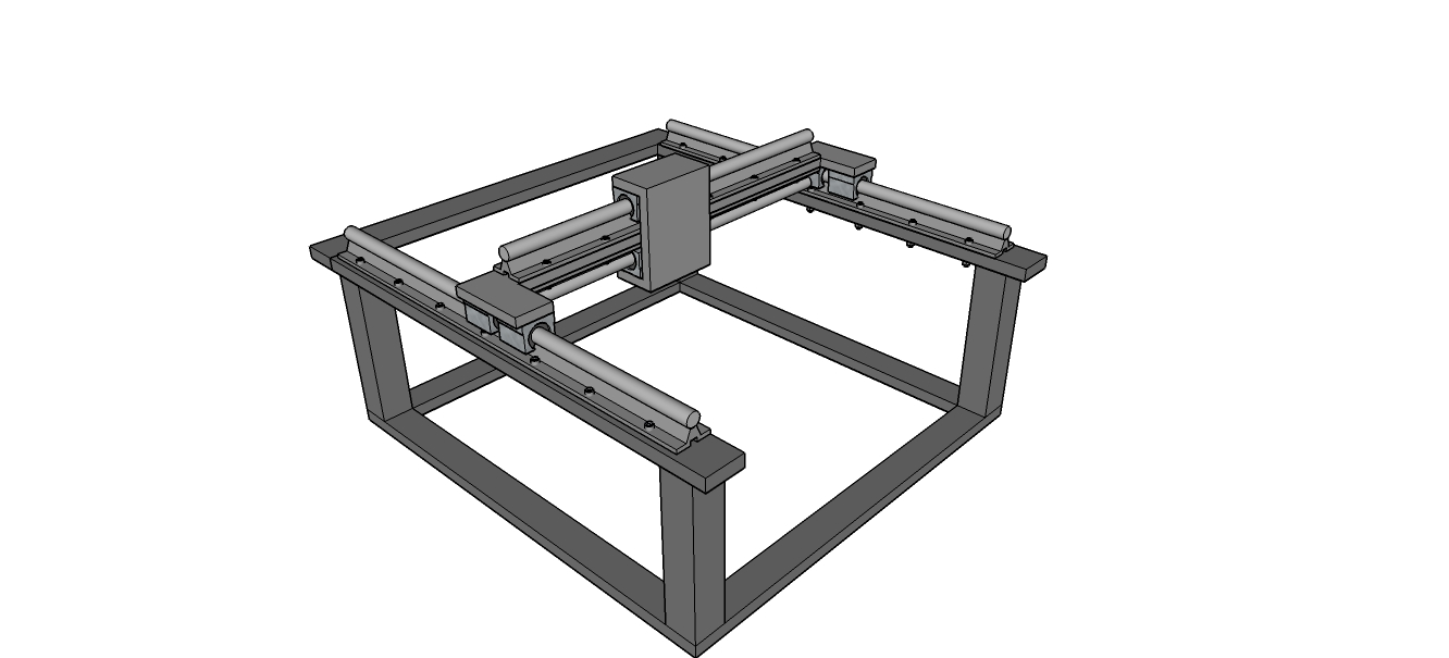 Picture of X Axis - Guide System