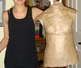 Packing Tape Dressform