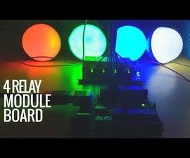DIY Relay Module Making