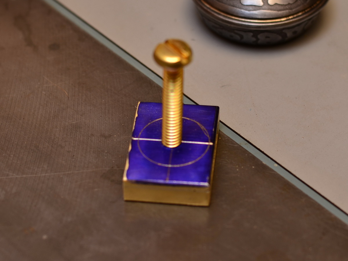 Picture of Making the Pommel Cap
