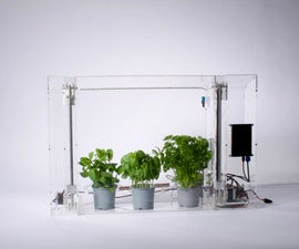Automated Indoor Greenhouse