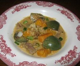 Ca Tim Ca Ri (Curried Thai Eggplant)
