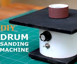 DIY Brushless Drum Sander
