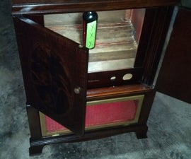 Tv Cabinet Turned Liquor Cabinet