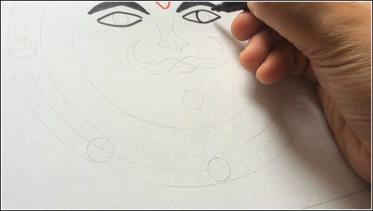 Draw the Outline and Highlight the Details