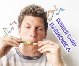 Rubber Band Harmonica!