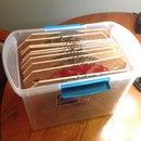 Simplified 10 Inch Saw Blade Storage